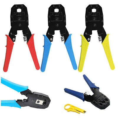 Professional Network Cable Tester Lan rj45 rj11 with Wire Cable Crimper Crimp
