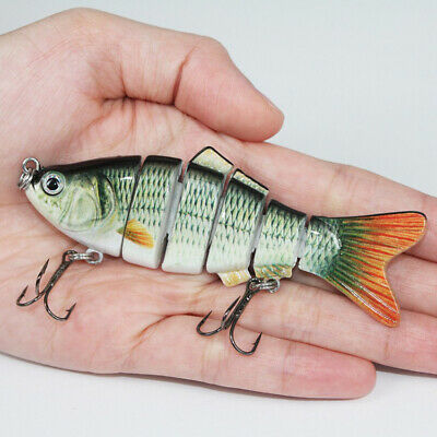 10cm 17g Sea Fishing Hard Bait 6 Sections of Simulated Bait Luya Bait