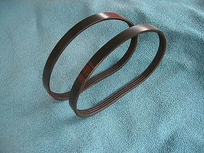 "2 NEW DRIVE BELTS FOR 12"" WOOD LATHE SEARS CRAFTSMAN 113228360 and 113.228360"