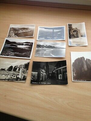 8 x Vintage B&White -RP's - Mixed -c1940's-1960's - Real Photo's - Posted - #B26