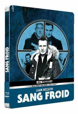 Sang Froid Steelbook 4K Ultra Hd +  Liam Neeson Blu Ray  Neuf Sous Cellophane