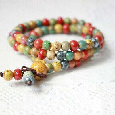 Bracelet: Bohemian Accessories with 108 Rosary Beads