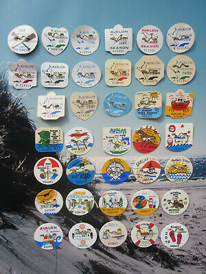 36   Year  Collection  Avalon   New   Jersey   Seasonal   Beach   Badges/Tags