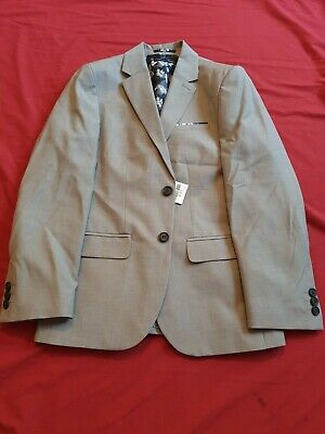 Boys Next Suit grey Jacket Sp Size Uk Age 11 Years Bnwt Rrp £30