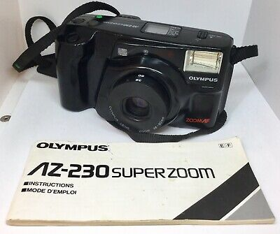 OLYMPUS AZ-100 ZOOM 35Mm Film Camera - £14 99 | PicClick UK