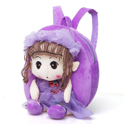 Cartoon Cute Small Animal Plush Toy Backpack