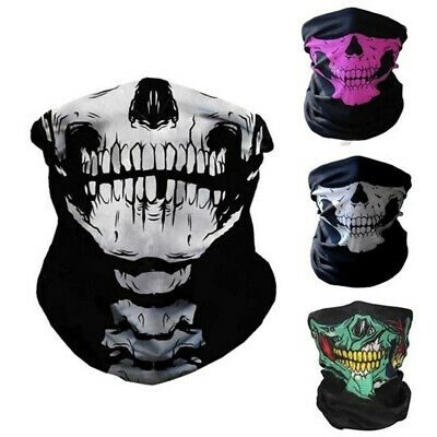 Cool Skull Windproof Warmth Winter Face Mask for Ski Snowboard Motorcycle