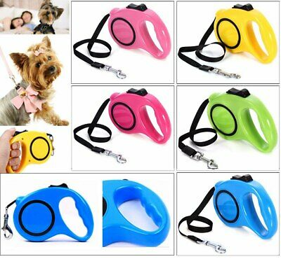 3M/5M Retractable Automatic Dog Harness Extending  Leash Puppy Walking Lead for