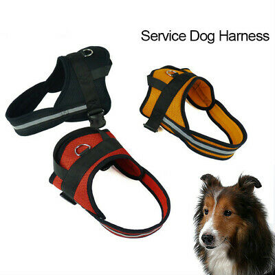No Pull Dog Harness Mesh Padded Service Dog Harnesses Retrieve Vest Harness