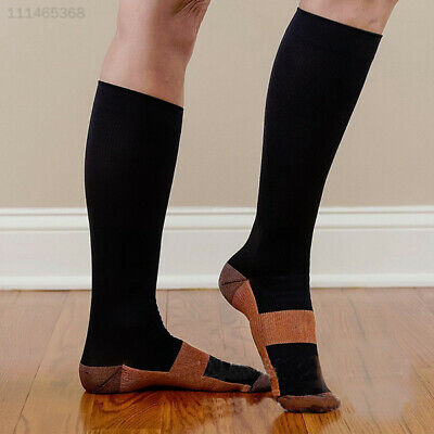 B095 Varicose Vein Stocking Sports Anti Fatigue Stockings Compression Socks Mens