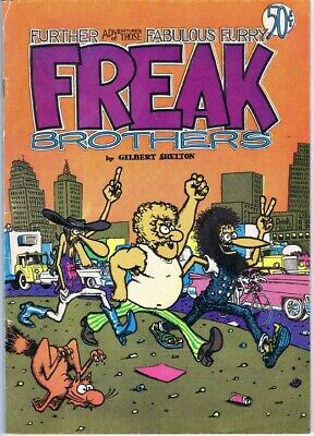 The Fabulous Furry Freak Brothers (1968-92) comic collection on DVD