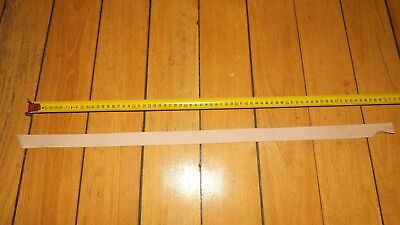 KANGAROO TAIL - NATURAL VEG TANNED LEATHER 600 x 30 mm strop drum band craft