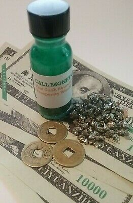 Money Drawing Oil Fast Cash Call Money Oil  BUY 1 GET ANY OTHER  1 FREE Wicca
