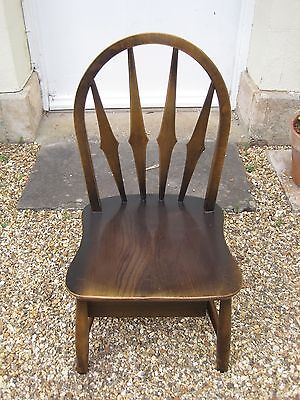 Ercol Blue Label Nursery Chair with Underseat Drawer and Original Seat Pad #