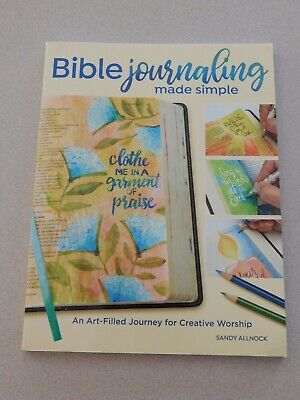 Bible Journaling Made Simple book - S. Allnock - New