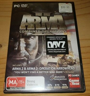 ARMA II : Combined Operations - PC DVD-Rom Game In Very Good Condition