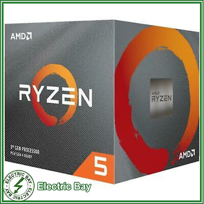 AMD Ryzen 5 3600X CPU 3.8 GHz 6 Core 12 Thread 32 MB Cache AM4 Desktop Processor
