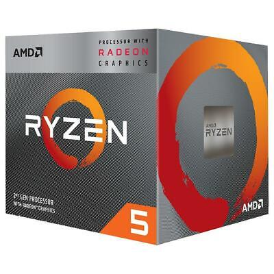 AMD Ryzen 5 3400G Processor 4MB 3.7 GHz 4 Core 8 Thread CPU Vega 11 Graphics AM4