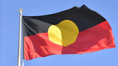 Large Aboriginal Indigenous Flag Heavy Duty Outdoor 90cm x 150cm