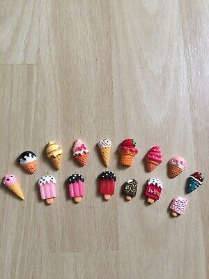 15 Pc Slime Charms or Ice Cream Charms