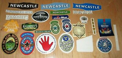 25 BEER STICKER PACK LOT decal craft beer brewing brewery tap handle B