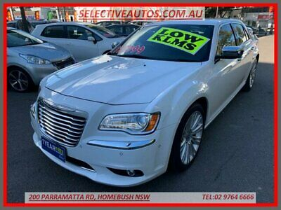 2013 Chrysler 300 MY12 C Luxury White Automatic 8sp A Sedan