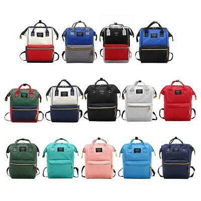 Large Capacity Waterproof Baby Care Diaper Bag Mummy Maternity Travel Backpack