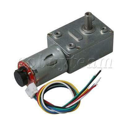 24V 6RPM 1:1000 Raitio Reduction Gear Box Motor with Encoder Code Disk