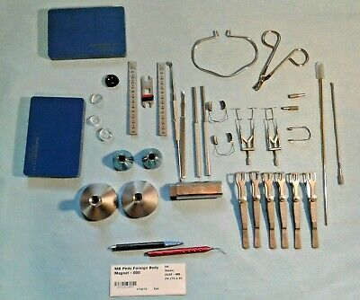 Storz Surgical Ophthalmic Lieberman Open Wire Eye Speculum E4065 & more