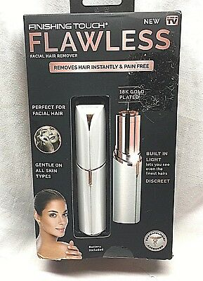 ORIGINAL Finishing Touch Flawless Women's Painless Hair Remover - Latest Model