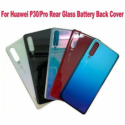 Original Replacement For Huawei P30/P30 Pro Rear Glass Battery Back Cover Cases