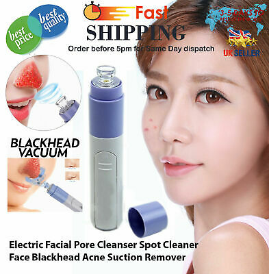 Electric Face Facial Pore Cleanser Spot Cleaner Blackhead Suction Acne Remover