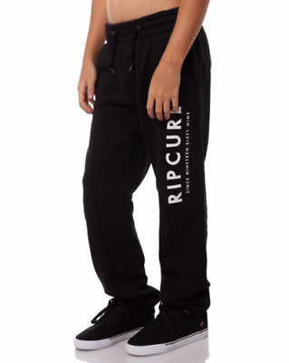 Rip curl Boys Youth Trackies Gym Joggers Bottoms Sweatpants Trousers RRP $59.95