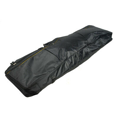 Portable 88-Key Keyboard Bag with Extra Pockets for Electric Piano