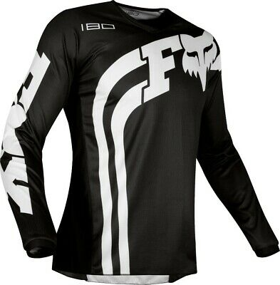 2019 Fox COTA 180 Motocross MX Race OffRoad Jersey BLACK Adults