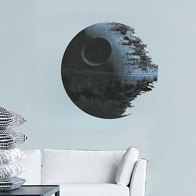 Movies Star Wars Death Star Vinyl Art Wall Stickers Decals Home Decor Removable