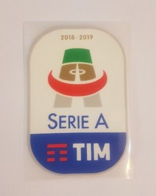 patch toppa serie a tim nuova originale 2019 2018 gomma gommina termosaldabile