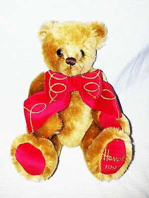 ac6e16e8f63d New 1997 Boxed Harrods Merrythought Golden Paws Bear - Limited Edition