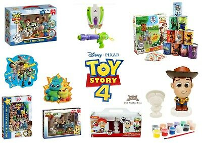 Toy Story 4 Gifts Puzzles Games - Water Guns Jigsaws Colouring and more