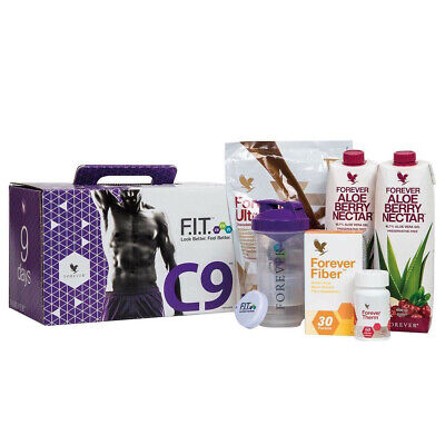 **Forever Aloe C9 Cleanse/Detox/Slim/Weigh Loss ** Chocolate & Berry Nectar**