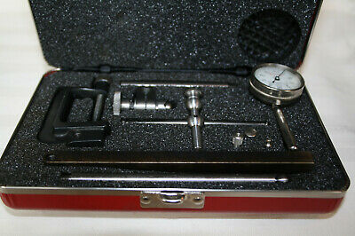 L. S.Starrett 196A Dial Test Indicator, In Original Case, Great Condition.
