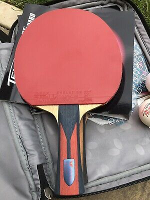 Butterfly Timo Boll W7  Mxp Pro Version 50 Degrees Hardness Black Rubber