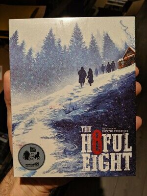 The Hateful Eight - KimchiDVD Full Slip Edition Steelbook (Blu-ray + OST) NEW!!