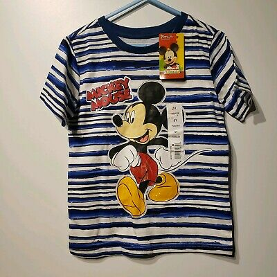 disney junior mickey mouse clubhouse toddler boys short sleeve t shirt size 5t