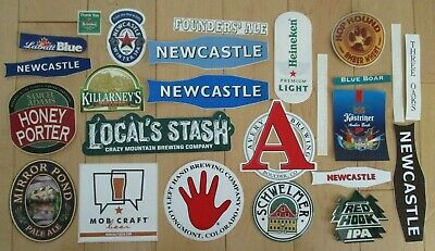 25 BEER STICKER PACK LOT decal craft beer brewing brewery tap handle T
