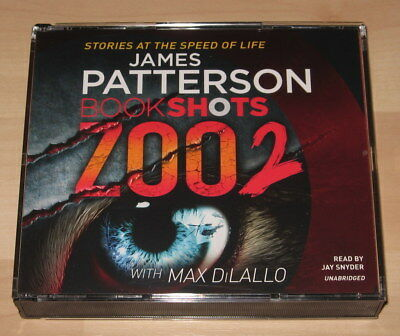 James Patterson with Max DiLallo -  Zoo 2 ... BookShots (3CD Audiobook 2016)
