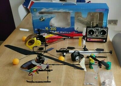 CENTURY HUMMINGBIRD V2 RC Helicopter With Full Spare Chassis