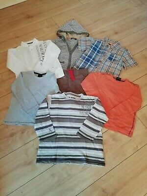 Boys Summer Clothes Bundle Aged 4-5 Years  Shorts Cardigan Tops Next