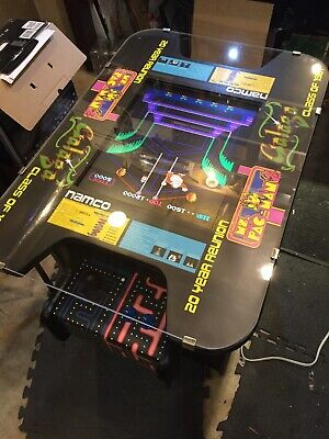 Cocktail Arcade Machine 60 Great 1980's Classic Games