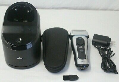 Braun Series 8 Mens Electric Shaver Wet Dry Sonic Technology 8370cc *Tested*